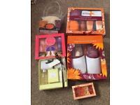 Selection of gifts sets (Calcot Manor, Mandara Spa, Active Naturals, Avon etc)