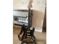 Fender Mexican Stratocaster Delux in mint condition