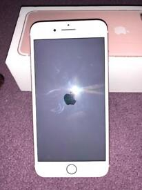iPhone 7 Plus rose gold 32 gig