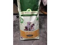 12.5kg James well beloved dog biscuits (light)