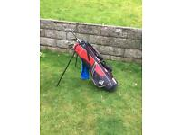 Left Hand Golf Clubs (Junior) & Golf Bag For Sale (Good Condition)