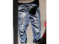 Men's Engineered twisted legs blue jeans
