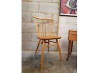 Vintage Ercol Stickback Chair
