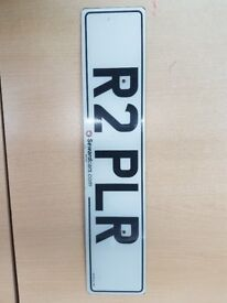 R2 PLR Number plate for sale