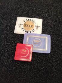 casino plaques