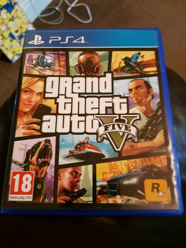 Gta 5 ps4in Basford, NottinghamshireGumtree - Gta 5 exelent condition with map May deliver for fuel depending how far you are