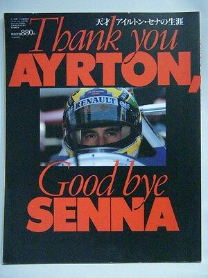Thank You AYRTON, Good Bye SENNA Photo Book Japan