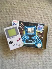 Nintendo Game Boy, with outer box. In very good condition