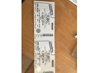 2 x Wombat Tickets