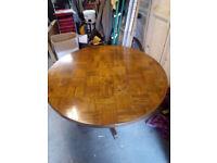 Circular Kitchen/dining table