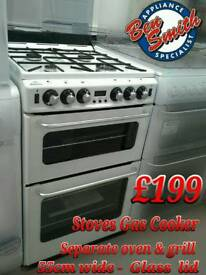 Stoves Gas Cooker 55cm wide white
