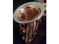 Curved Soprano Saxophone. 1 MONTH OLD.