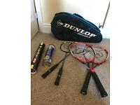 Entire rackets set