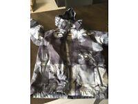 Quicksilver Boys ski jacket size 12