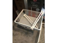 Ikea Komplement Wire basket pull out drawers with rails large £5 each