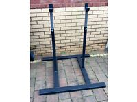 Squat rack bench rack