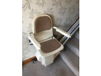 Stairlift Brooks, Excellent condition still fitted so can be seen working