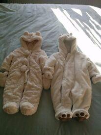 2 Baby Pram suits