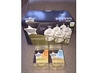 NEW! 6x Tommee Tippee bottles and teats