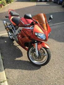 Suzuki SV1000s 2005 Low Mileage