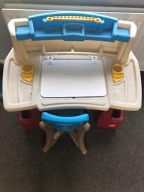 Step 2 art activity desk and chair