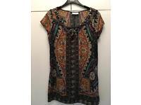 Wallis tunic dress size 10