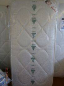 New Myer Adams Chester Damask Single Mattress.