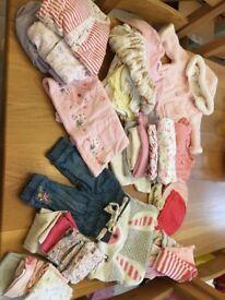 Baby girl bundle 3-6mths