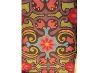 Colourful rug BARGIN £15