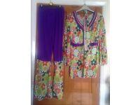 70s Fancy Dress (green)