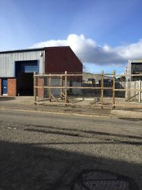 Commercial unit with outside area for let - Perth retail park