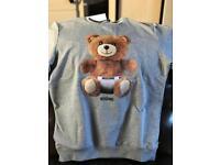Mens Moschino teddy bear Size M Sweater Jumper