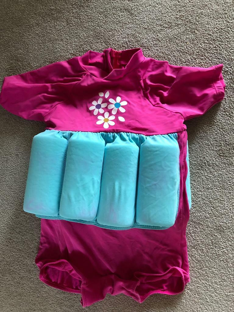 a70f027b5 Mothercare Swimsafe Float Suits Pink 2-3 swimming aid