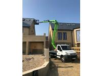 Cherry Picker Hire by the hour, including IPAF qualified Operator