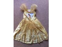 Belle Disney Princess dress age 3-4