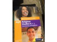 GCSE Religious Studies A 9-1 Christianity and Buddhism Oxford Revision Guide