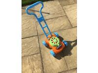 Kids Bubble Lawnmower