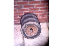 trailer wheels 8in 15 pounds