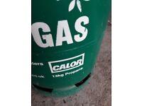 Propane gas bottle