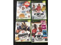4X Xbox Sport games