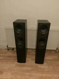 Mission M74 tower speakers 150w