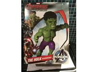 The hulk bobble head
