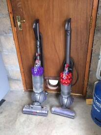 Dyson hoovers DC40 & DC50