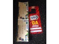 Kendle calling tickets x2 plus car park pass