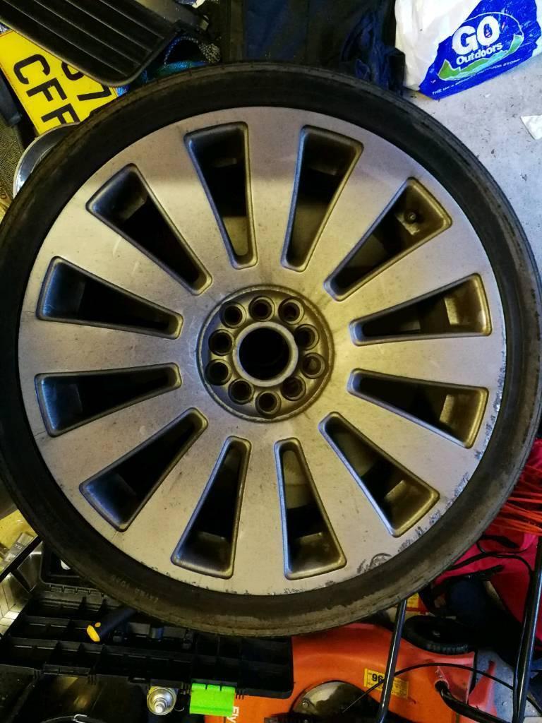 Audi A8 REPS alloys