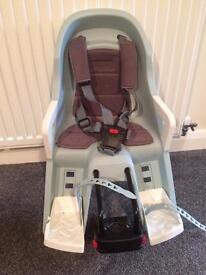 Guppy child bike seat, front mounted