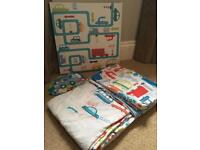 Duvet covers, wall canvas and stickers