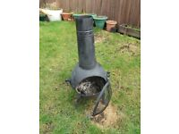 Chiminea / garden burner