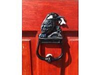 Antique Kingfisher Door Knocker