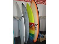 January sale brand new Surfboards from £300